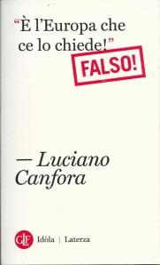 Anche Luciano Canfora sta con gli autori di Stradialoghi